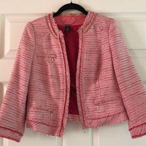 Summer Tweed jacket.